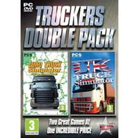 Ex-Display Truckers Double Pack (Euro Truck & UK Truck) Simulator Game