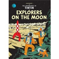 Explorers on the Moon (The Adventures of Tintin) Hardcover