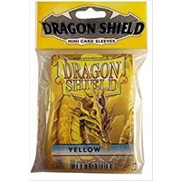 Dragon Shield Japanese size - Yellow 50 Sleeves (10 Packs)