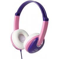 Groov-e Kidz DJ Style Headphone with 85dB Volume Limiter - Pink/Violet