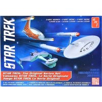 Star Trek Cadet Series TOS Era Ship Model Kit Set