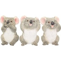 Three Wise Koalas Figurines