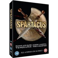 Spartacus: The Complete Collection Series 1-4 DVD (Slim Edition)
