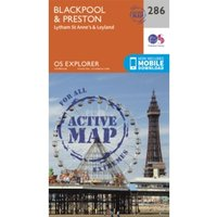 Blackpool and Preston by Ordnance Survey (Sheet map, folded, 2015)