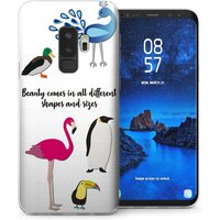 CASEFLEX SAMSUNG GALAXY S9 PLUS BEAUTY ANIMALS CASE / COVER (3D)