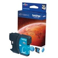 Brother LC-1100HYC Ink cartridge cyan, 750 pages, 10ml