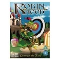 Robin Hood Quest For The King DVD