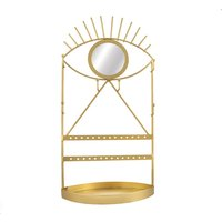 Sass & Belle Gold Eye See You Jewellery Holder with Mirror