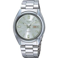Seiko SNXS75K Seiko 5 Mens Automatic Watch Silver with Grey Face