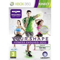 Kinect Your Shape Fitness Evolved 2012 Game (Classics)