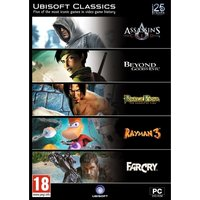 Ex-Display Ubisoft Classics 5 (Includes: Assassin's Creed, Beyond Good & Evil, Rayman and More) PC Game Pack