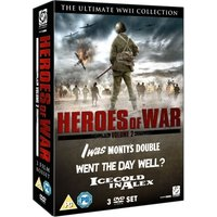 Heroes of War Volume 2 I Was Montys Double Ice Cold In Alex Went The Day Well DVD