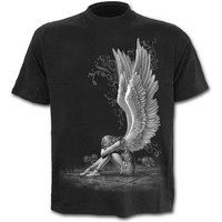 Enslaved Angel Men's Medium T-Shirt - Black
