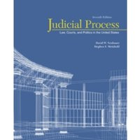 Judicial Process: Law, Courts, and Politics in the United States by Stephen Scott Meinhold, David W. Neubauer (Paperback,...