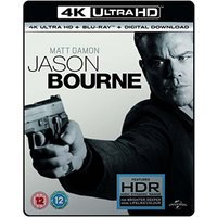Jason Bourne 4K UHD Blu-ray