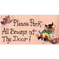 Please Park All Brooms Pack Of 12