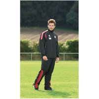 PT Ultimate Tracksuit Trousers Black/Red/Silver 26-28