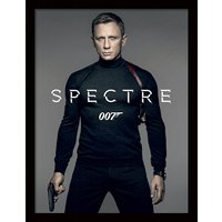 James Bond - Spectre - Colour Teaser Framed 30 x 40cm Print