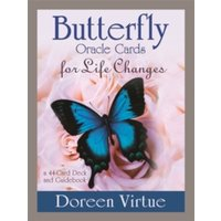 Butterfly Oracle Cards for Life Changes : A 44-Card Deck and Guidebook