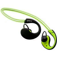 Image of Groov-e GVBT800GN Action Wireless Bluetooth Sports Headphones with LED Neckband Green