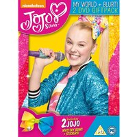 Jojo Siwa Gift Boxset - Blurt My World and BFF Bows DVD