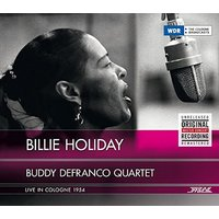 Billie Holiday & Buddy Defranco Quartet - Live in Cologne 1954 Vinyl