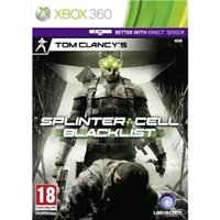 Ex-Display Tom Clancys Splinter Cell Blacklist (Kinect Compatible) Game