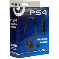 ORB Wired Chat Headset PS4