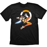 Overwatch - Tracer Hero Men's X-Large T-Shirt - Black