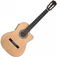 Stagg Electro-Acoustic Classical Guitar with Cutaway & 4-band EQ