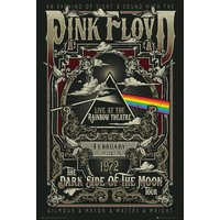 Pink Floyd Rainbow Theatre Maxi Poster