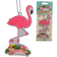 Funky Flamingo Design (Pack Of 6) Air Freshener