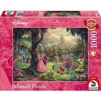 Ex-Display Thomas Kinkade Disney Sleeping Beauty 1000 Piece Jigsaw Puzzle Used - Like New