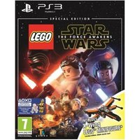 Lego Star Wars The Force Awakens Special Edition PS3 Game (X-Wing Figure)