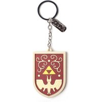 Nintendo Legend of Zelda Hero's Shield 3D Pendant Rubber Keychain