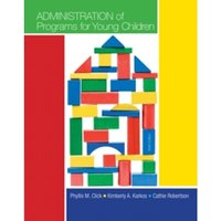 Administration of Programs for Young Children by Jennifer Parker, Phyllis Click (Paperback, 2013)