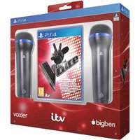 The Voice Includes 2 Microphones PS4 Game