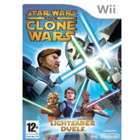 Star Wars The Clone Wars Lightsaber Duels Game
