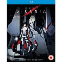 Knights Of Sidonia Complete Series 1 Collection Episodes 1-12 Deluxe Edition Blu-ray
