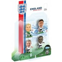 SoccerStarz England 4 Player Blister Pack D Figures