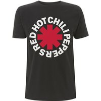 Red Hot Chili Peppers - Classic Asterisk Men's Small T-Shirt - Black