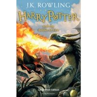 Harry Potter And The Goblet Of Fire (Book 4) Hardcover – Large Print