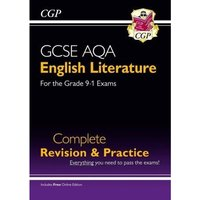 New GCSE English Literature AQA Complete Revision & Practice - Grade 9-1 (with Online Edition) (CGP GCSE English 9-1...