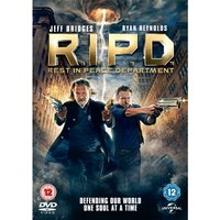 R.I.P.D. Rest in Peace Department DVD & UV Copy