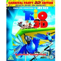 Rio 3D Blu-Ray + Blu-Ray + DVD + Digital Copy