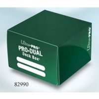 Ultra Pro Green Pro Dual Deck Box