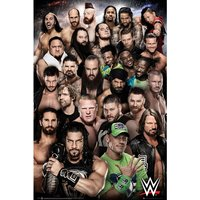 WWE Superstars 2018 Maxi Poster
