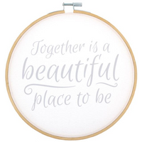 Together is Beautiful Hoop