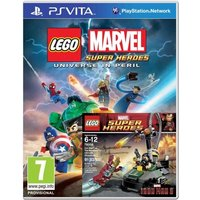 Lego Marvel Super Heroes Universe In Peril with Iron Man vs Mandarin Toy Game PS Vita