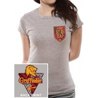 Harry Potter - House Gryffindor Women's X-Large T-Shirt - Grey